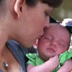 Sophia and Mommy