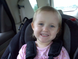 Ella in Car