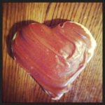 heart sugar cookie