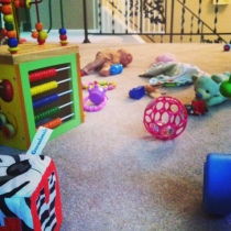toys in the floor