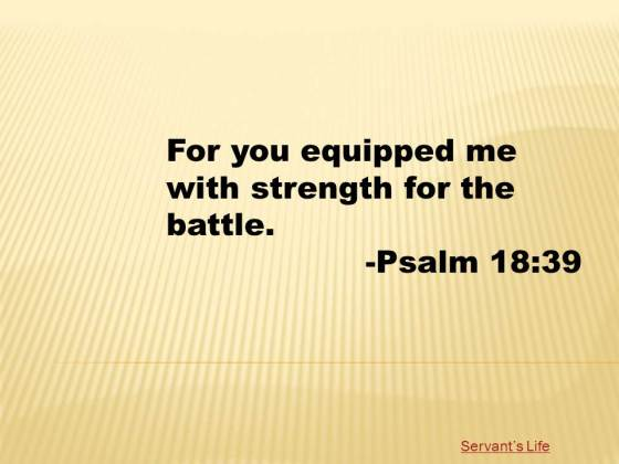 Psalm 18 39 Printable
